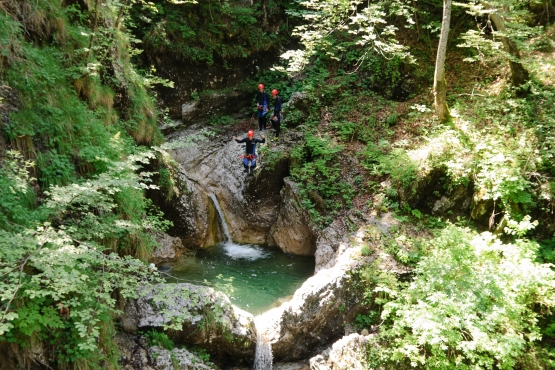canyoning fratarica