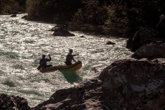 mini rafting bovec