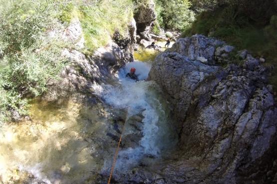 Canyoning Soca Bovec