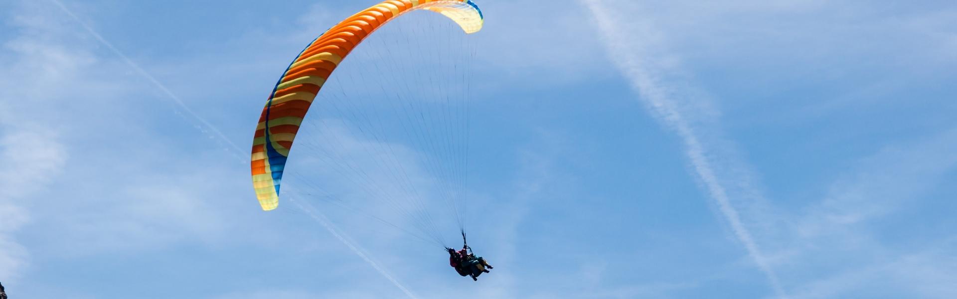 letenje s padalom v tandemu bovec
